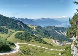 Landschaft nahe Garmisch-Partenkirche