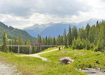 Berglandschaft nahe Seefeld