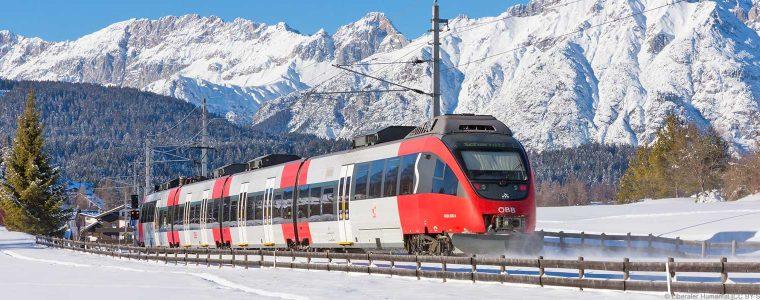 Mittenwaldbahn nahe Scharnitz